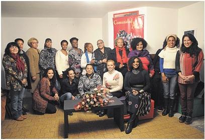 afroactivistas que luchan contra la discriminación