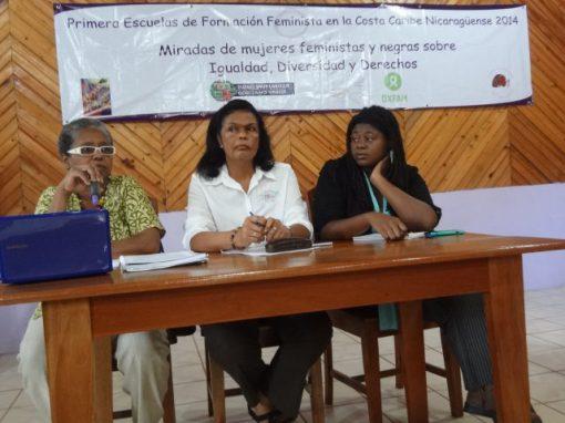Escuela de Formacion Feminista En la Costa Caribe 2014